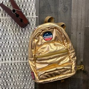 Champion Rare Metallic Gold Astronaut Backpack